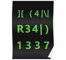 I can read 1337 Poster