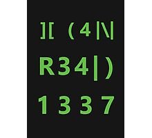 I can read 1337 Photographic Print