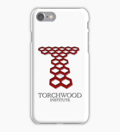 Torchwood Institute iPhone Case/Skin