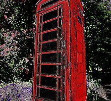 Red Phone Box by Samantha Higgs