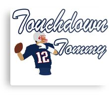 Touchdown Tommy Metal Print