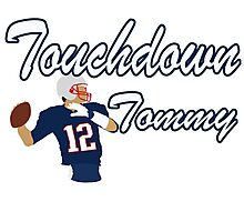 Touchdown Tommy Photographic Print
