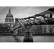 Millennium Bridge 01 Photographic Print