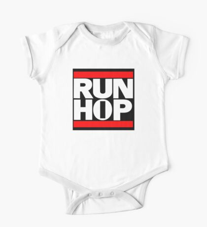 Run HIP HOP mashup - Alternative version One Piece - Short Sleeve