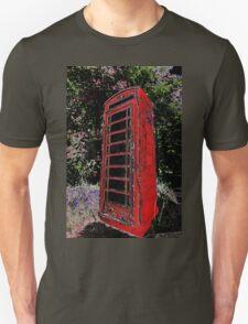 Red Phone Box Unisex T-Shirt