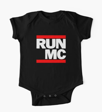 RUN MC - Hip Hop Mashup One Piece - Short Sleeve