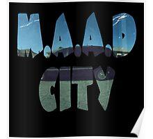 Kendrick Lamar m.A.A.d City Poster