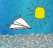 Paper Airplane 92 by YoPedro