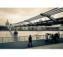 Millennium Bridge 02 Photographic Print