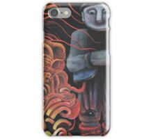 Watchman of Eternity - part 1 - Grauer Mann attacked by Baba Yaga iPhone Case/Skin