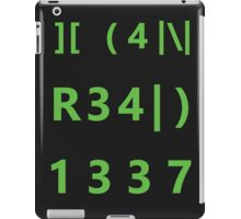 I can read 1337 iPad Case/Skin