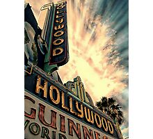hollywood,sign Photographic Print