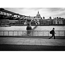 Millennium Bridge 03 Photographic Print