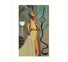 Vivienne Tarot Art Print
