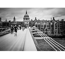 Millennium Bridge 05 Photographic Print