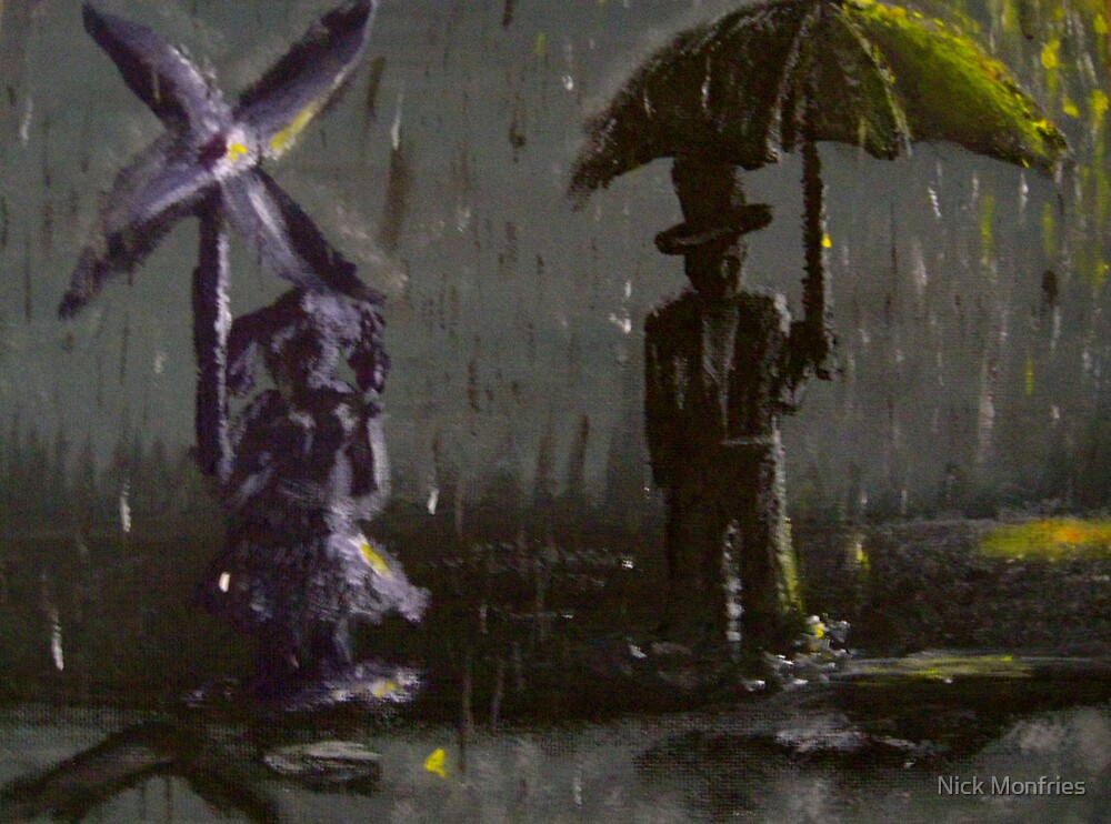 Rain is what you make of it by Nick Monfries