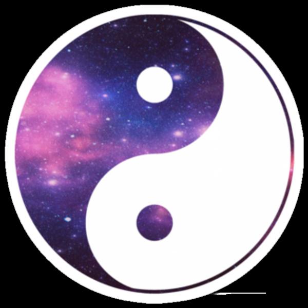 Galactic yin yang by kalkos on the hunt for Yin yang raumgestaltung
