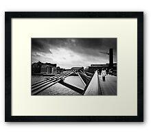 Millennium Bridge 04 Framed Print