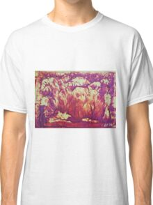 """""""Forest Fire"""" original abstract artwork by Laura Tozer Classic T-Shirt"""