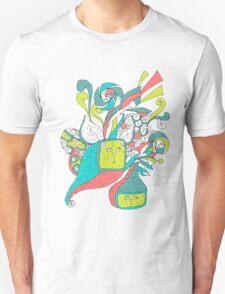 surreal boxcat Unisex T-Shirt
