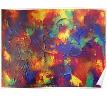 """""""Entropy"""" original abstract artwork by Laura Tozer Poster"""
