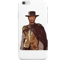 Man With No Name iPhone Case/Skin