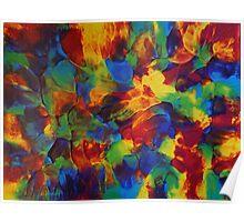 """""""Kaleidoscopic"""" original artwork Poster"""