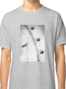 London Eye and Union Jack Classic T-Shirt