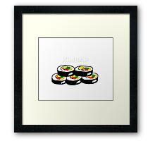 Kimbap  Framed Print