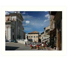 Urbino, Italy Art Print