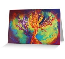 """Coral Forest"" original artwork by Laura Tozer Greeting Card"