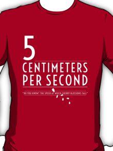 5 Centimeters per Second t-shirt / Phone case T-Shirt