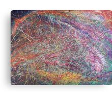 """""""Entanglement No.2"""" original abstract artwork by Laura Tozer Canvas Print"""