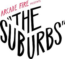 Arcade fire The suburbs logo by crazybitches