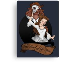 The Beast of the Opera Canvas Print