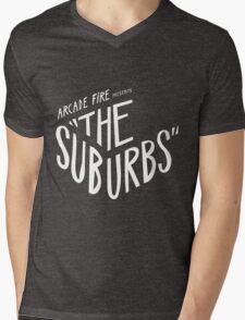 Arcade fire The Suburbs logo Mens V-Neck T-Shirt