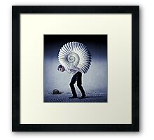 The Weight of Life Framed Print