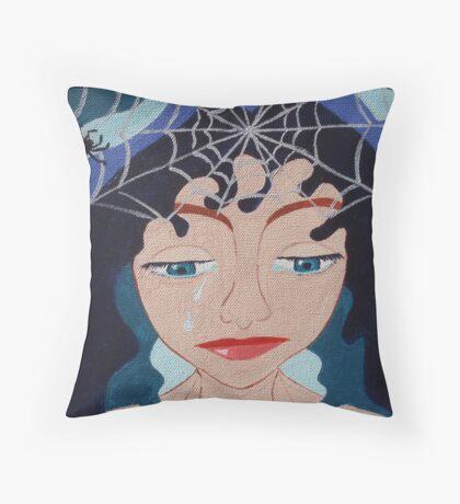 Heatbroken Goddess Throw Pillow