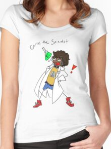 Carlos the Scientist Women's Fitted Scoop T-Shirt