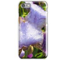 Rain  Drops On The Iris iPhone Case/Skin