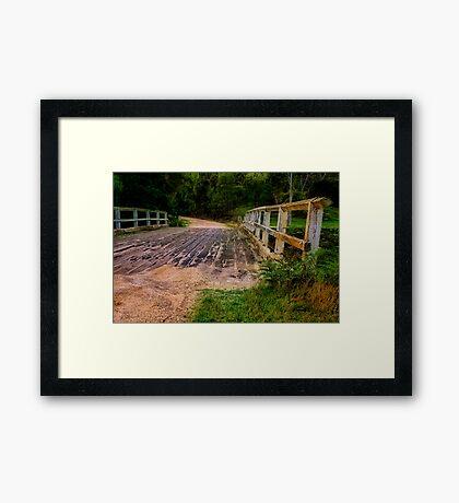 """The Road to Durdidwarrah"" Framed Print"