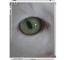 cat eyes iPad Case/Skin