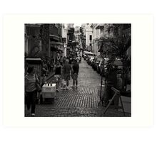 SAN JUAN UP HILL Art Print