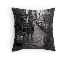 SAN JUAN UP HILL Throw Pillow