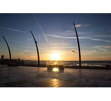 Blackpool Sunset Photographic Print
