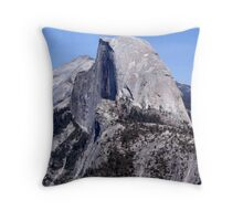 Half Dome, Yosemite Throw Pillow