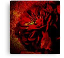 Scarlet Ribbon Canvas Print