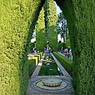 Reflecting Pool Archway by phil decocco