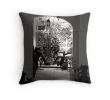 SAN JUAN PATIO DE LUZ Throw Pillow