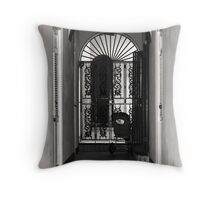 SAN JUAN LACE SCREEN Throw Pillow